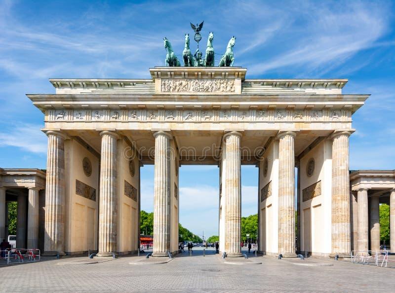 Brandenburg Gate Brandenburger Tor Berlin Germany Stock Photo Image Of Famous Panoramic 147624240