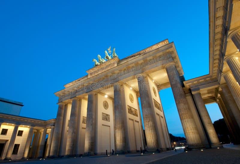 Brandenburg port royaltyfria foton