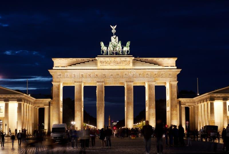Brandenburg port på royaltyfri bild