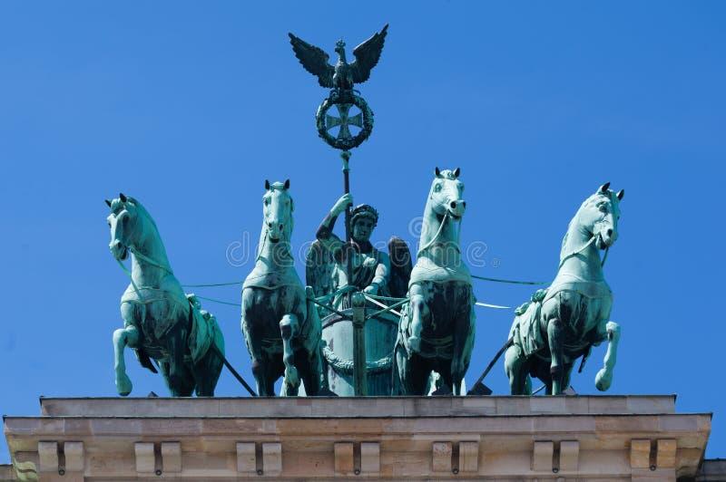 Brandenburg Tor Berlin Germany stock foto's