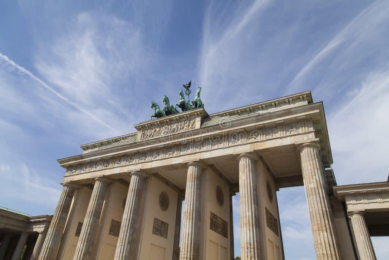 Brandenburger gate in Berlin royalty free stock image