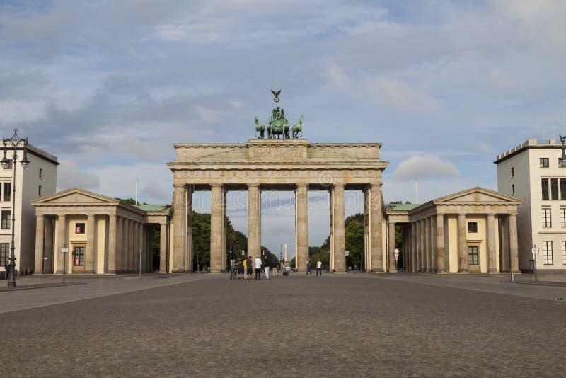 Brandenburger gate in Berlin royalty free stock photo