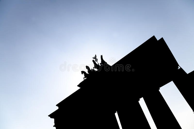 Brandenburger gate stock photos