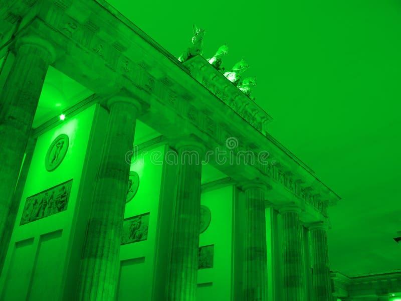 Download Brandenburger tor stock photo. Image of detail, night - 10288562