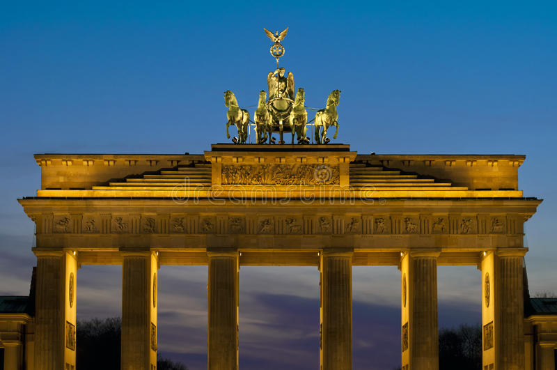 Download The Brandenburger Tor stock photo. Image of place, city - 24230658