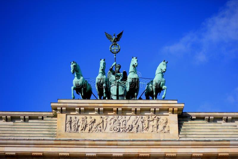 Brandenburger Tor arkivbild