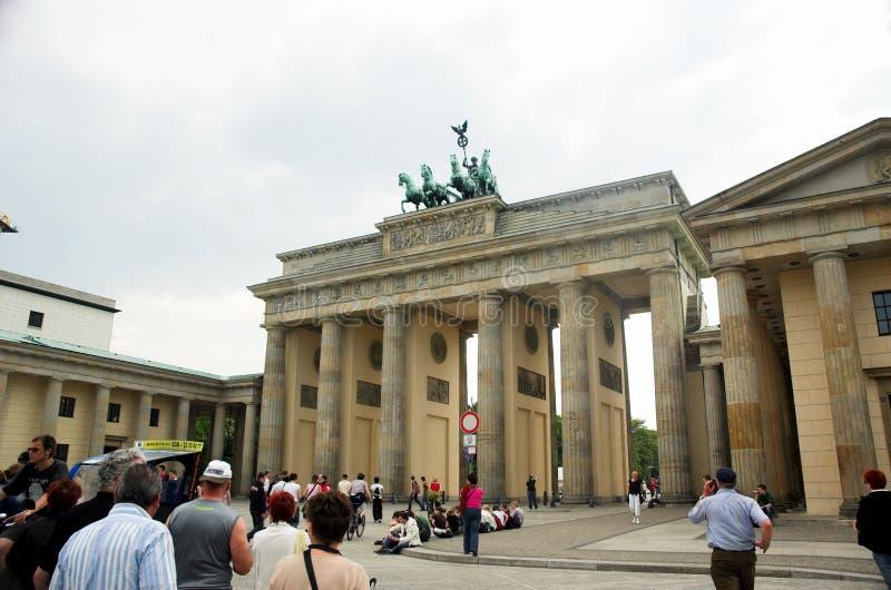 Brandenburger Tor, Berlin stockbild