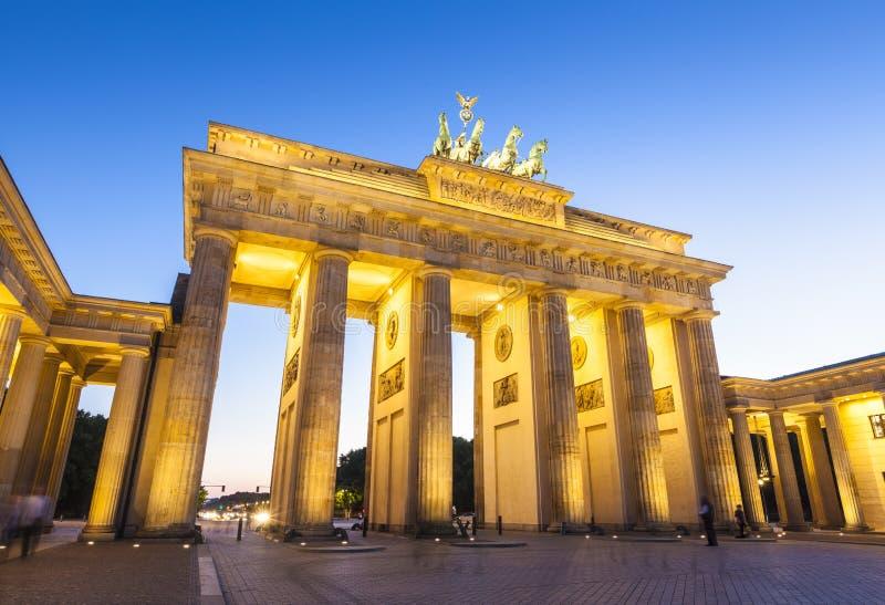 Brandenburger Tor, Berlin, Deutschland lizenzfreie stockbilder