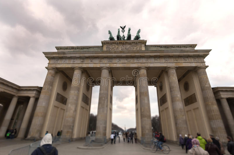 Brandenburger tor Berlin Germany obraz stock