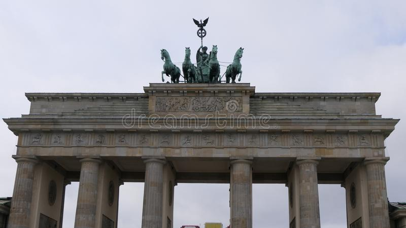Brandenburger Tor Brandenburg Gate, Berlin Germany photos stock