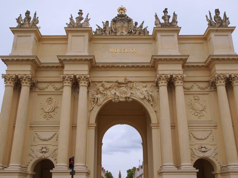 Brandenburger Tor w Potsdam Berlin zdjęcia royalty free