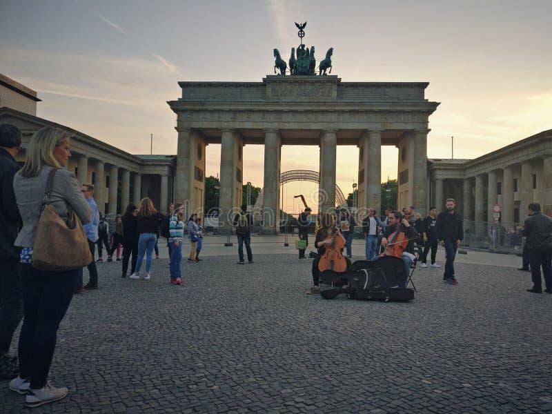 Brandenburger Tur stock afbeeldingen