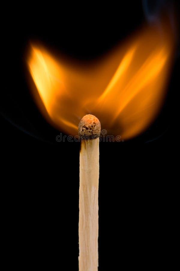 Brandende gelijke stock afbeelding