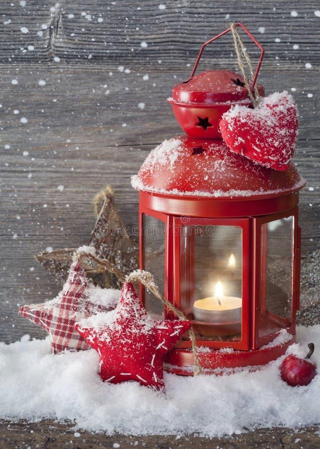 Brandende lantaarn royalty-vrije stock foto's