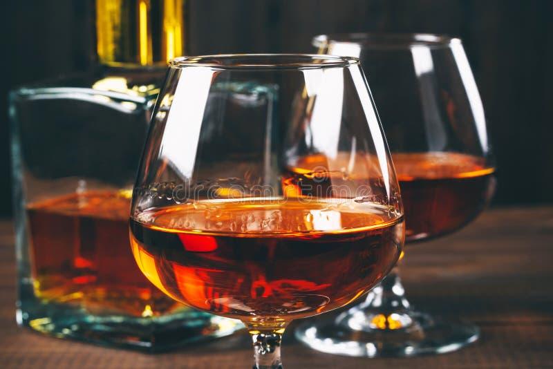brandewijn of cognac stock foto
