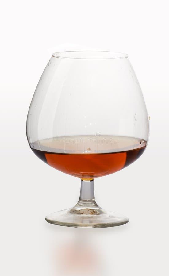 Brandewijn in glas stock foto's