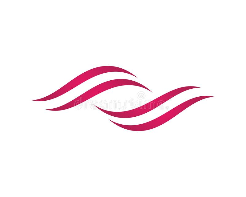 Brandflamma Logo Template royaltyfri illustrationer