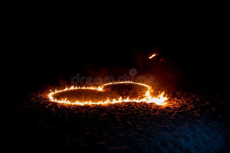 Brandhjärta fotografering för bildbyråer