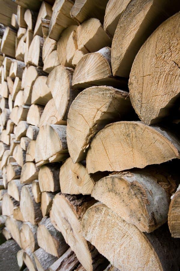 Brandhout stock afbeeldingen