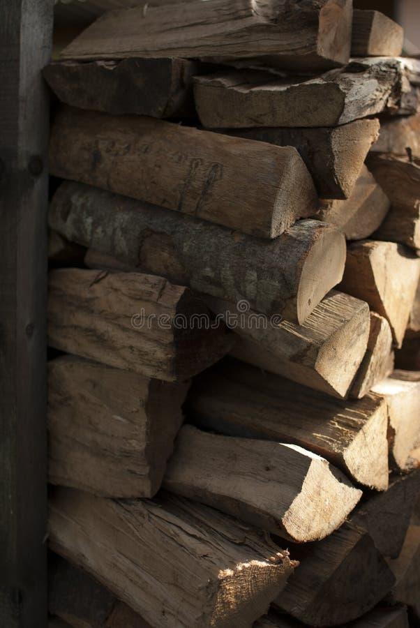 brandhout royalty-vrije stock foto's