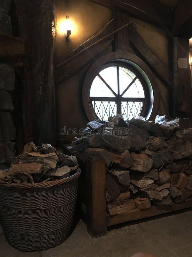 Brandhout voor de Winter royalty-vrije stock afbeelding