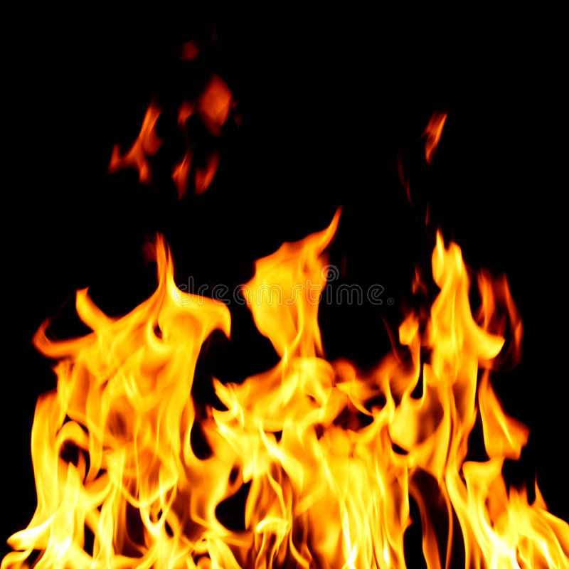 brandinferno arkivfoton