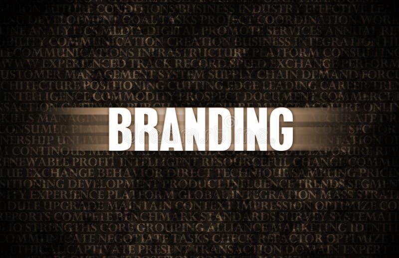 Branding royalty free illustration
