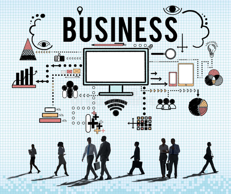 Branding-Geschäfts-Marketingstrategie-Konzept vektor abbildung