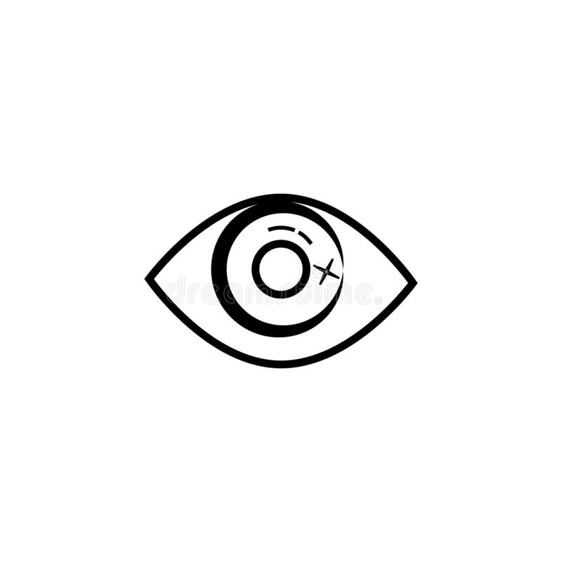 Eye Care vector logo design. Branding Identity Corporate Eye Care vector logo design vision network isolated document see eco view business wellness concept royalty free illustration