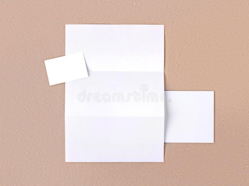 Branding identity stock image