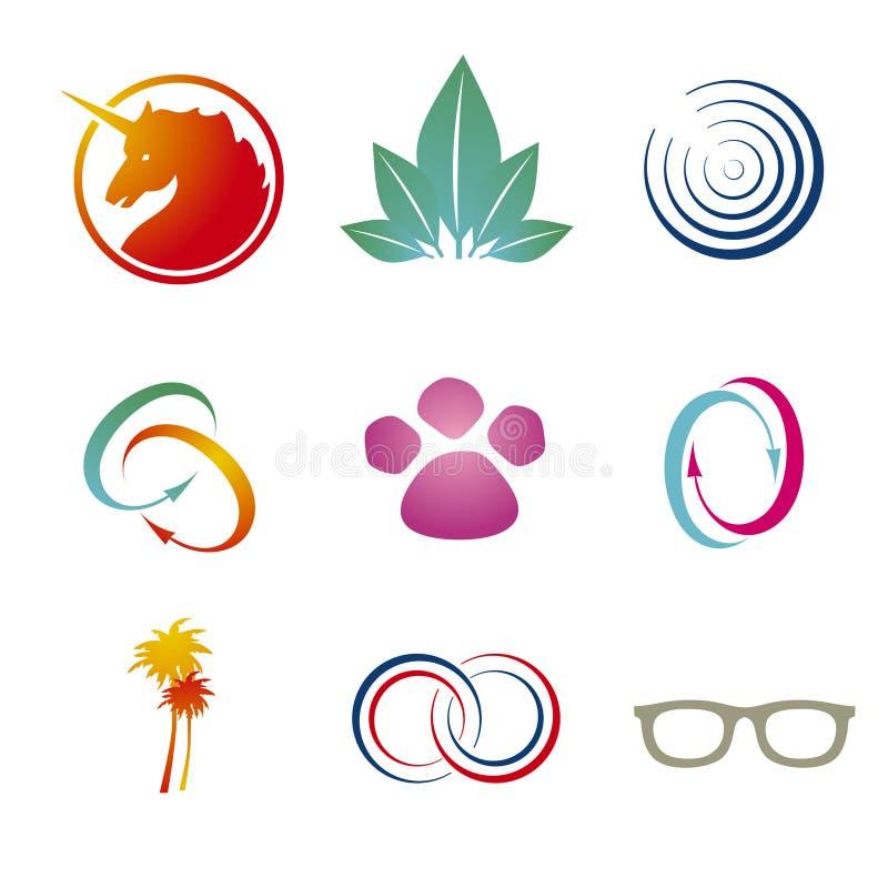 Branding / Logo Templates stock illustration