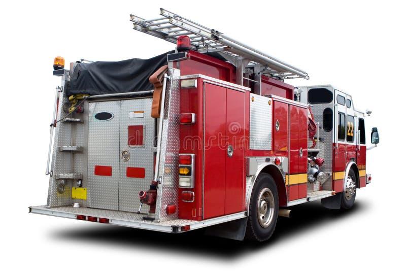 brandlastbil arkivfoto