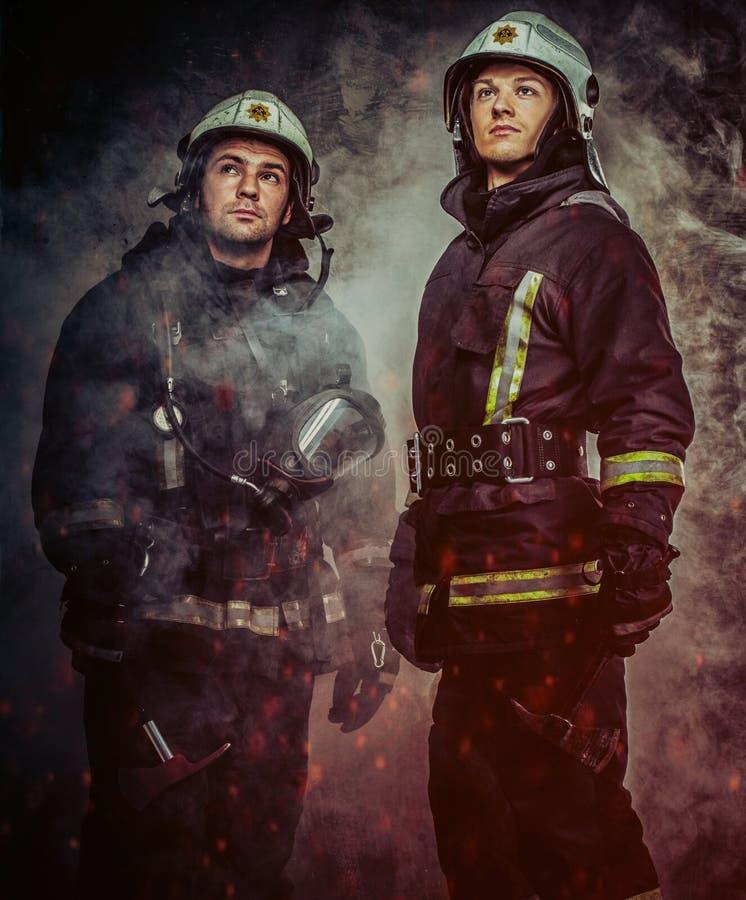 brandmän royaltyfri fotografi