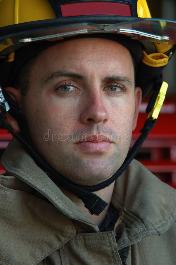 brandman arkivfoto