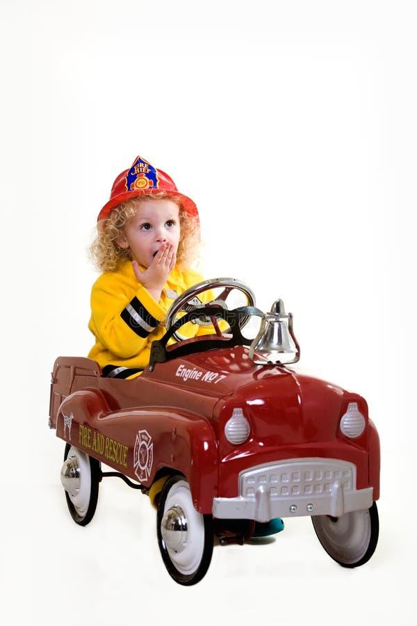 brandman little arkivbild