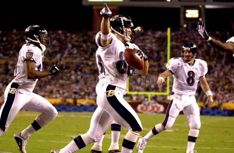 Brandon Stokley, Super Bowl XXXV photographie stock libre de droits