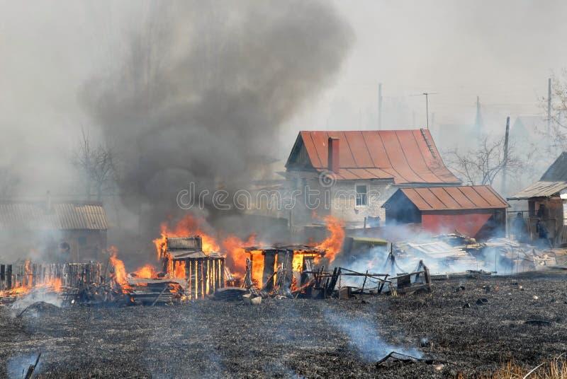 brandperson fotografering för bildbyråer