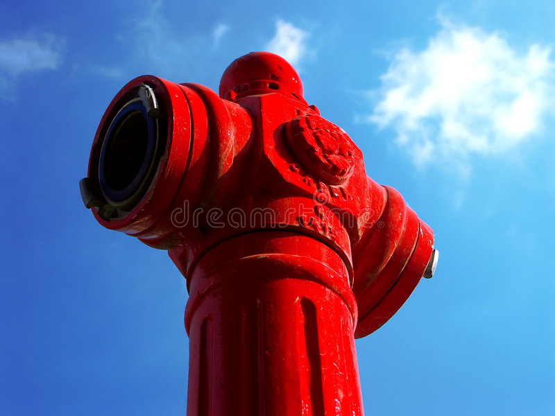 brandpost arkivfoto