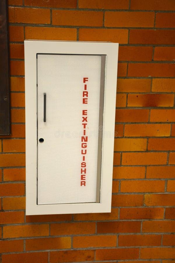 Brandsläckaredörr royaltyfri fotografi