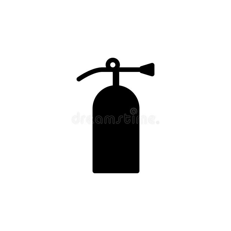 Brandsläckaresymbol Tecknet och symboler kan användas för rengöringsduken, logoen, den mobila appen, UI, UX vektor illustrationer