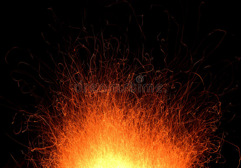 Brandslepen stock afbeeldingen
