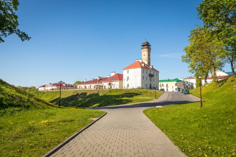 Brandstation i Grodno _ arkivbilder