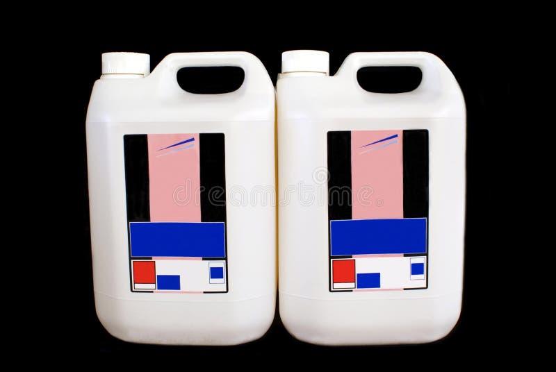 brandstof paraffine het product van de benzinepost royalty-vrije stock foto's