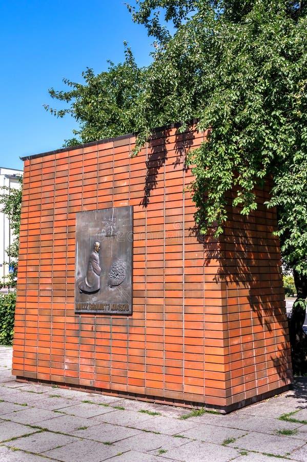 Brandt pomnik obraz royalty free