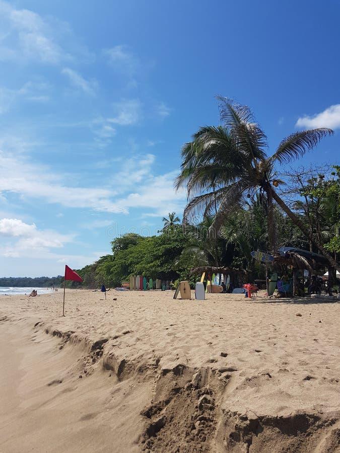 Brandung und Strand, Puerto Viejo lizenzfreie stockfotos