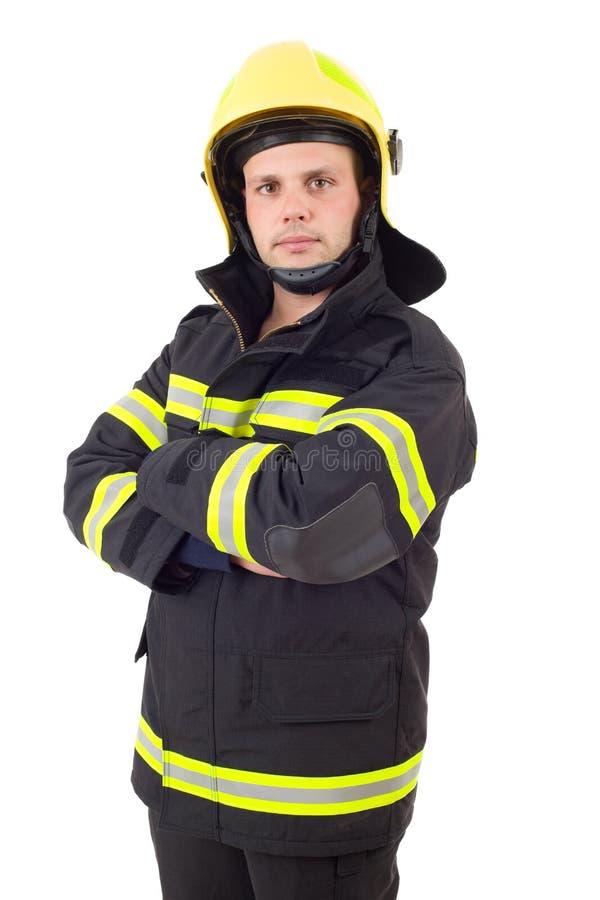Brandvechter stock fotografie