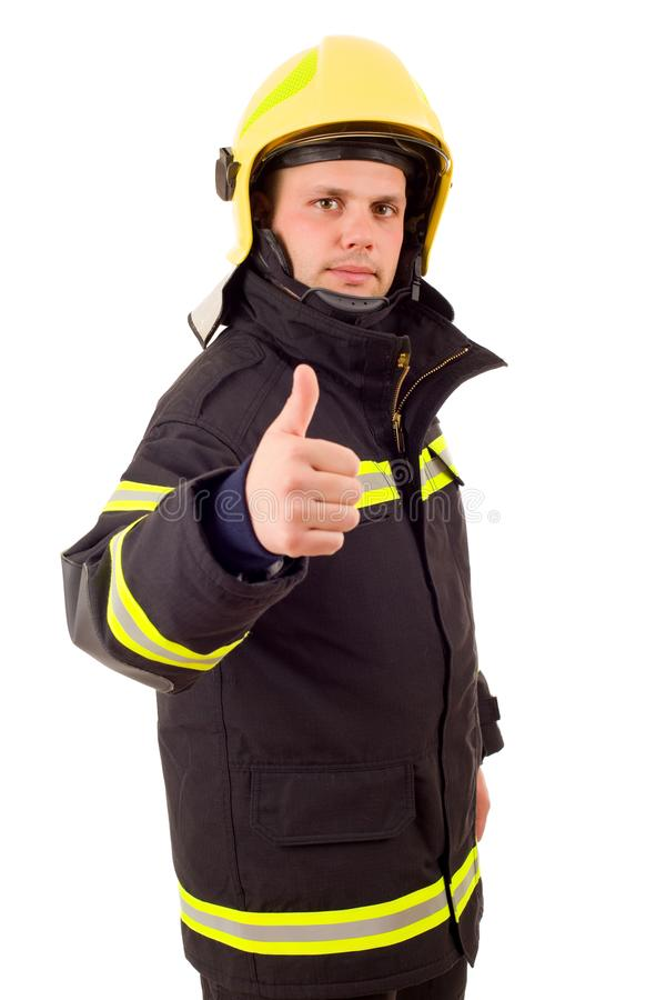 Brandvechter royalty-vrije stock afbeeldingen