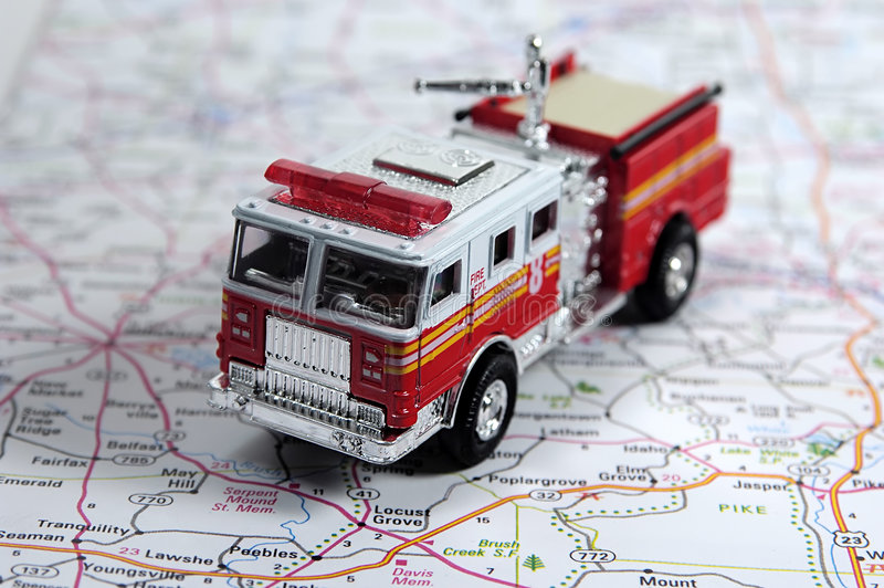Download Brandveiligheid stock afbeelding. Afbeelding bestaande uit rood - 33761