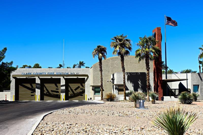 Brandweerkorps het Zuid- van Las Vegas van Clark County stock afbeelding