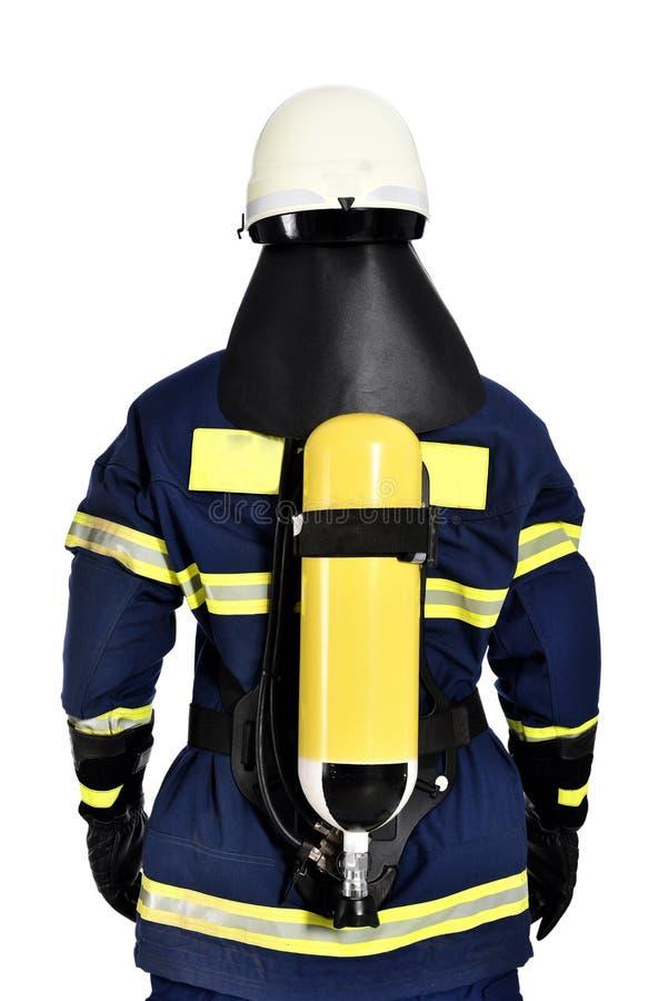 Brandweerman stock foto's